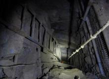 the climb down to breakthrough chamber