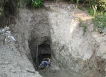 Entrance works at Quarry/Rabbit Mine, Surrey